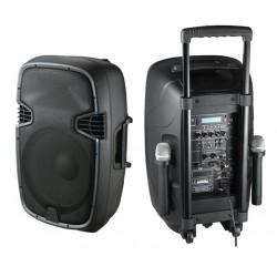 RH SOUND PP-2112 AUS-CB Kolumna aktywna MP3/USB/BT 2x mikrofon