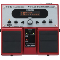 BOSS VE-20 Efekt wokalowy