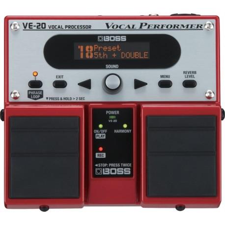 BOSS VE-20 Efekt wokalowy