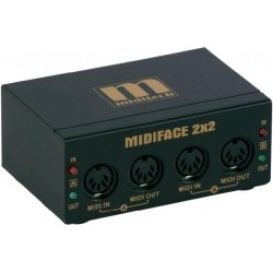 MidiTech MIDIFACE 2x2 interface MIDI/USB