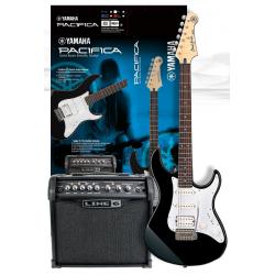 YAMAHA Pacifica 012 Spider Gitara elektryczna zestaw