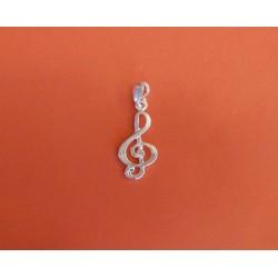 Wisiorek B09 klucz wiolinowy