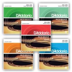 D'Addario 85/15 Bronze Wound