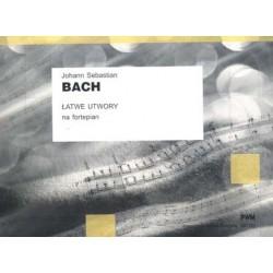 Łatwe utwory na fortepian - J.S. Bach