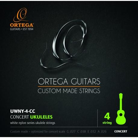 Ortega UWNY4CC Struny do ukulele koncertowego