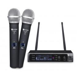 Prodipe UHF M850 duo system bezprzewodowy do ręki x2