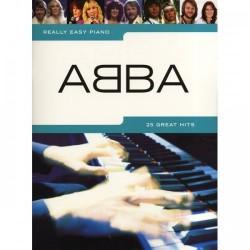 ABBA nuty na fortepian