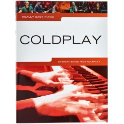 Coldplay nuty na fortepian