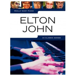 Elthon John nuty na fortepian