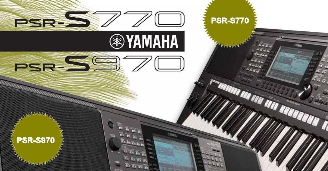 PSR-S770 i PSR-S970