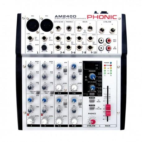 PHONIC AM-240 D Mikser