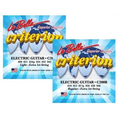La Bella Criterion struny do gitary elektrycznej