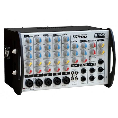 BOX V-700 POWERMIKSER 2x350 /4ohm