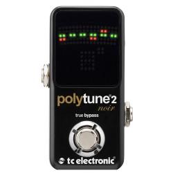 TC Electronic PolyTune 2 Noir tuner