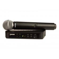 SHURE BLX24E/SM58 Mikrofon bezprzewodowy