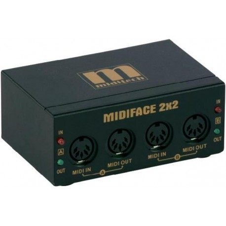 MidiTech MIDIFACE 2x2 interface MIDI/USB