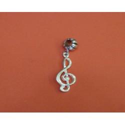 Wisiorek B25 klucz wiolinowy