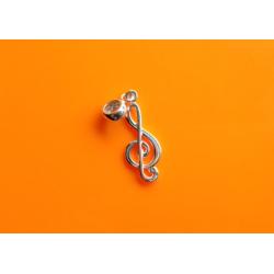 Wisiorek B26 Klucz wiolinowy