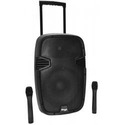 Stagg PTMS-12 UBTWR Kolumna akumulatorowa MP3/USB/BT 2x mikrofon