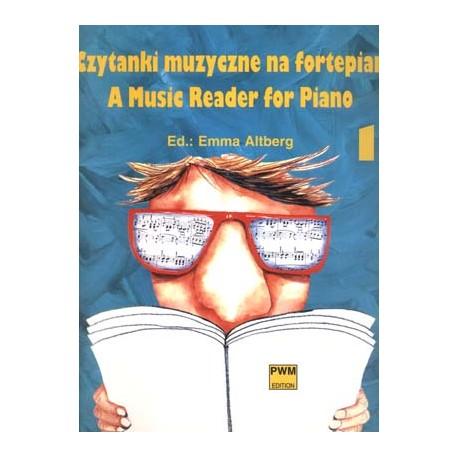 Czytanki muzyczne na fortepian cz. 1 - E.Altberg