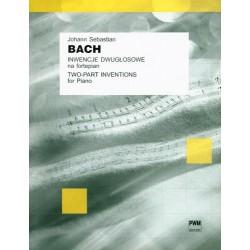 Inwencje dwugłosowe na fortepian - J.S. Bach
