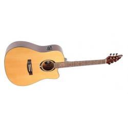FlyCat C-100 Gitara el. akustyczna