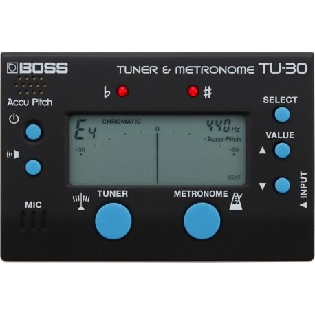 BOSS TU-30 tuner / metronom