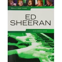 ED Sheeran nuty na fortepian