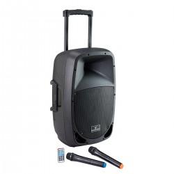 Soundsation 15AMW Kolumna akumulatorowa MP3/USB/BT 2x mikrofon