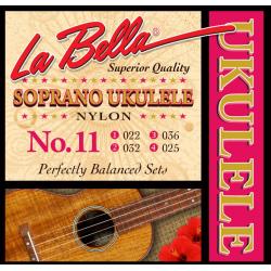 La Bella 11 Struny do ukulele sopranowego