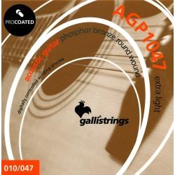 GALLI AGP Struny do gitary akustycznej