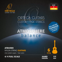 Ortega ATB-44 Struny do gitary klasycznej