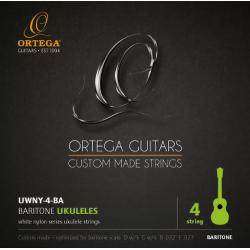 Ortega UWNY4 BA Struny do ukulele barytonowego