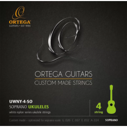 Ortega UWNY4 SO Struny do ukulele sopranowego