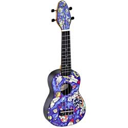 KEIKI K2-SP ukulele sopranowe z akcesoriami