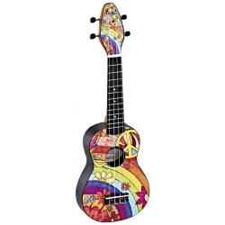 KEIKI K2-68 ukulele sopranowe z akcesoriami