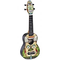 KEIKI K2-TM ukulele sopranowe z akcesoriami