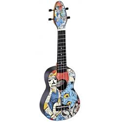 KEIKI K2-SR ukulele sopranowe z akcesoriami