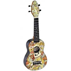 KEIKI K2-VP ukulele sopranowe z akcesoriami