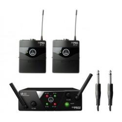 AKG WMS40 mini dual instrument system bezprzewodowy