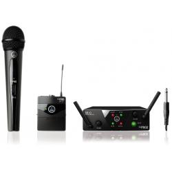 AKG WMS40 mini dual Instrument/vocal system bezprzewodowy