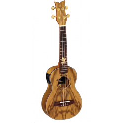 Ortega Lizard CC ukulele el. koncertowe z pokrowcem