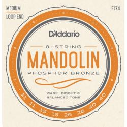 D'Addario EJ 74 Struny do mandoliny