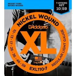 D'Addario EXL 110-7 Struny 10-59