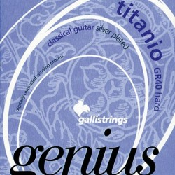 GALLI GR-40 genius titanio hard struny