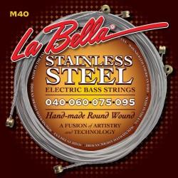 La Bella M40 Bass 4 Struny 40-95