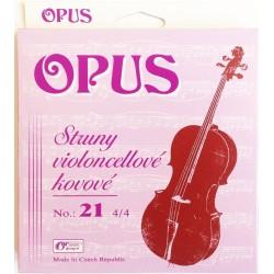 OPUS 21 Cello Struny do wiolonczeli
