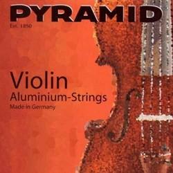 PYRAMID 100 Aluminium Struny do skrzypiec