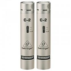 Behringer C-2 Mikrofon pojemnościowy (para)