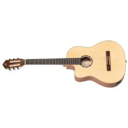 Ortega RCE125SN-L gitara el. klasyczna z pokrowcem leworęczna